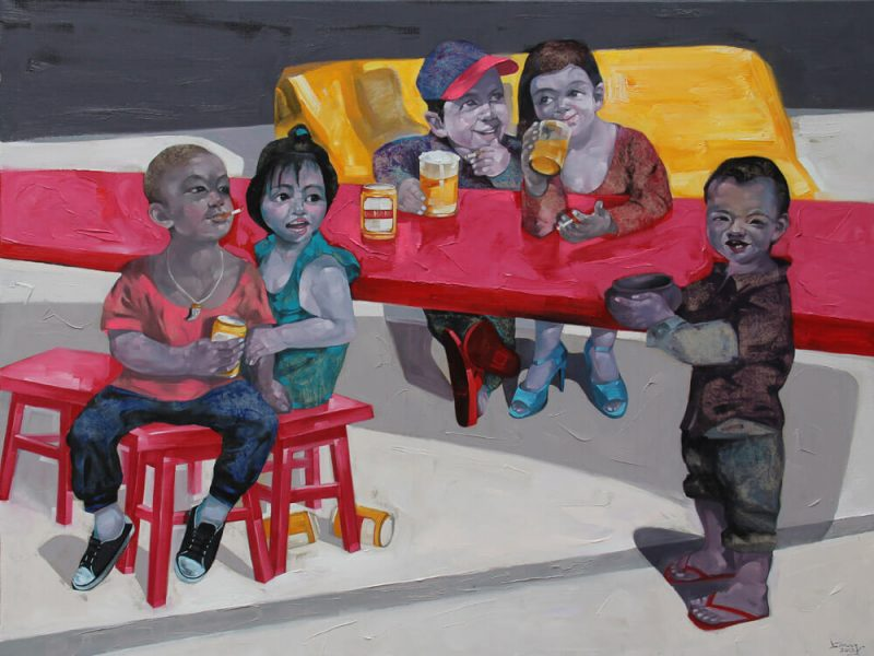 Live II, Vietnam Art Painting