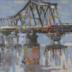 Long Bien Bridge, Best Vietnam Artworks