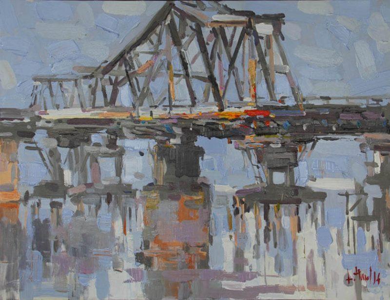 Long Bien Bridge, Best Vietnam Artworks