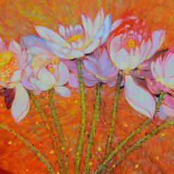 Lotus II, Dang Dinh Ngo, Vietnam Art Gallery