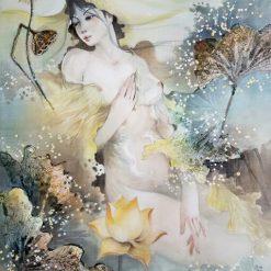 Lotus Lady 6 - artist Phan Niem