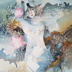 Lotus Lady 7 - artist Phan Niem
