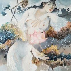 Lotus Lady 8 - artist Phan Niem