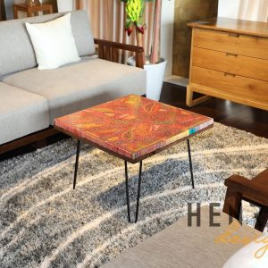 Lotus Pond Colored-Pencil Coffee Table I 10