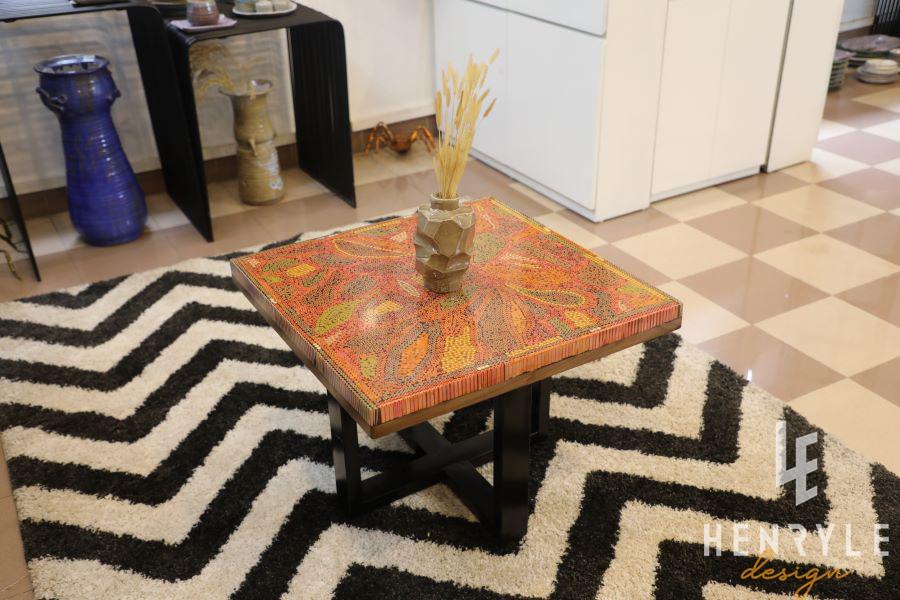 Lotus Pond Colored-Pencil Coffee Table I 12