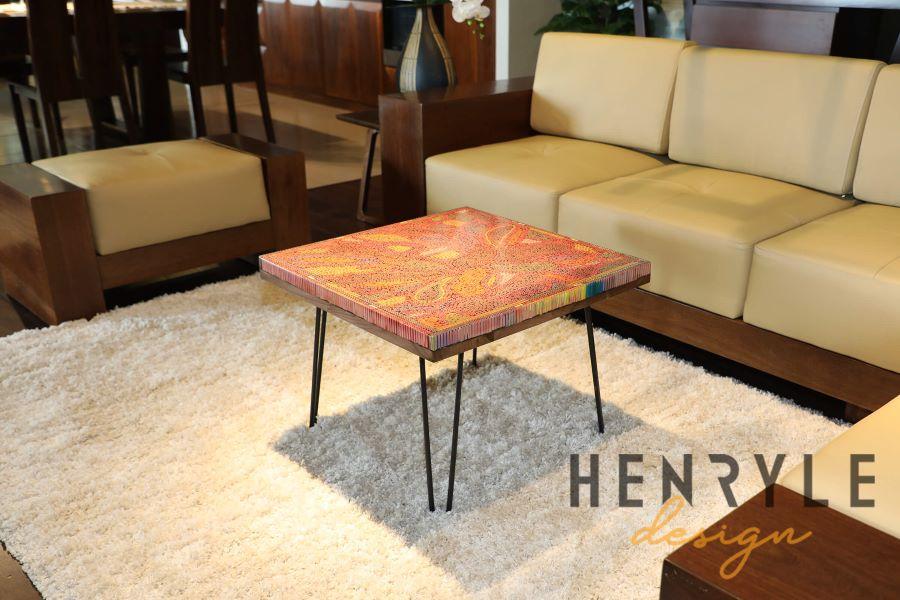 Lotus Pond Colored-Pencil Coffee Table I 9