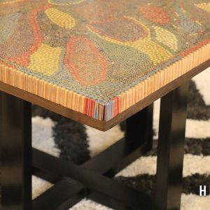 Lotus Pond Colored-Pencil Coffee Table II 2