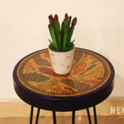Lotus Pond Colored Pencil Coffee Table IX 2
