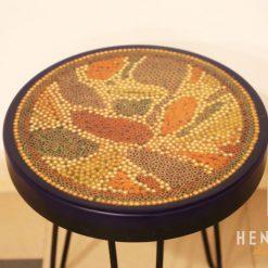 Lotus Pond Colored Pencil Coffee Table IX 3