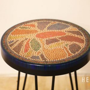 Lotus Pond Colored Pencil Coffee Table VIII 3