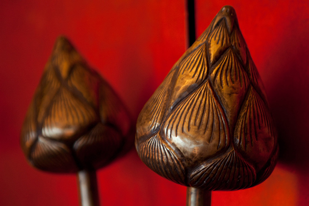 Lotus Vietnamese sculpture
