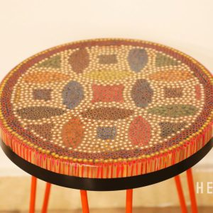 Lucky Coins Colored Pencil Coffee Table V 3