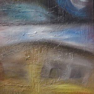 Magical Eye II - acrylic on canvas paintings