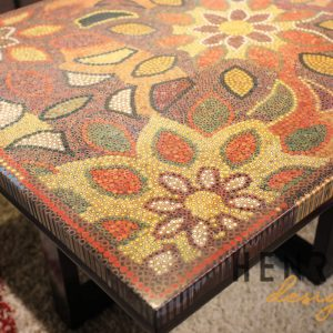 Melody of Mother Nature Colored-Pencil Coffee Table 1