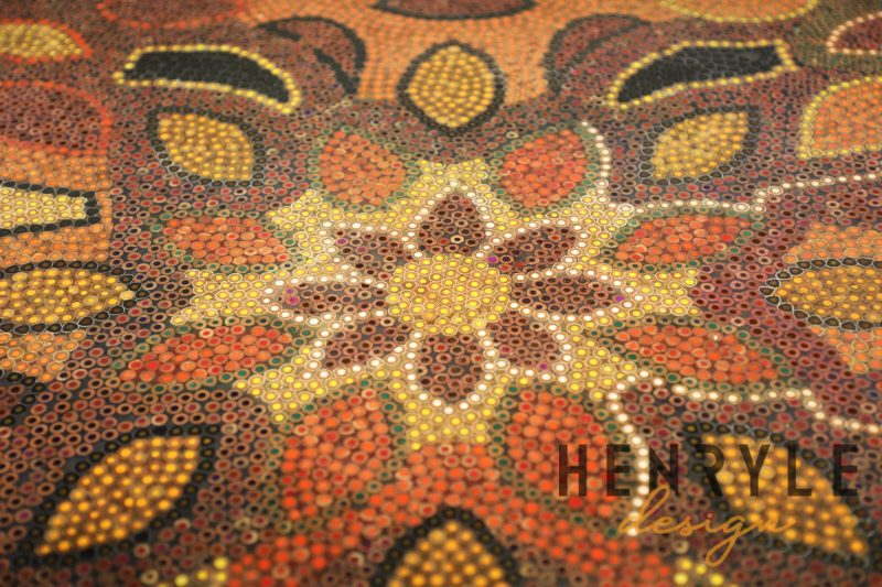 Melody of Mother Nature Colored-Pencil Coffee Table 2