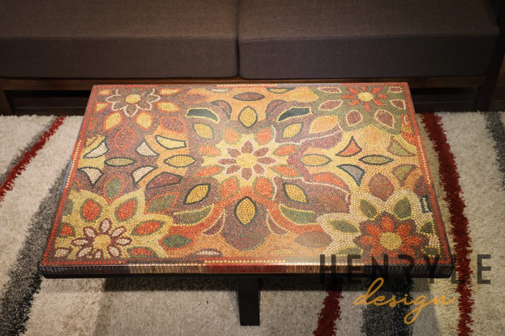 Melody of Mother Nature Colored-Pencil Coffee Table 3