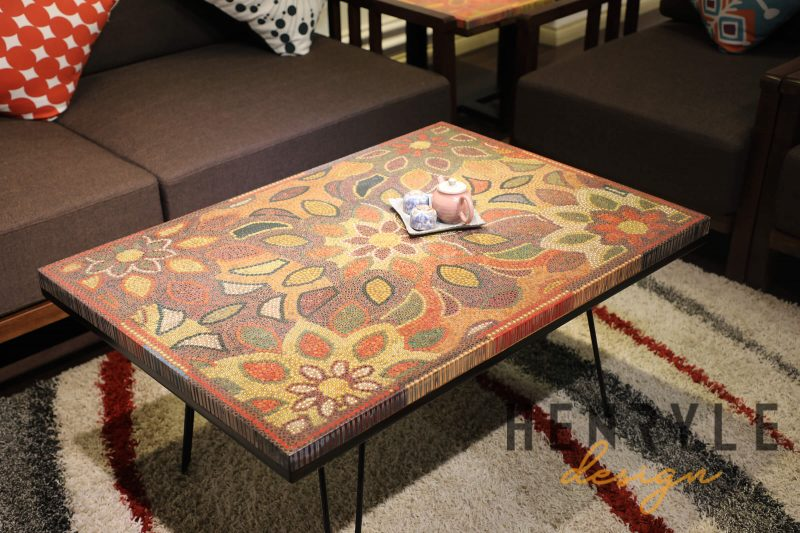 Melody of Mother Nature Colored-Pencil Coffee Table 5