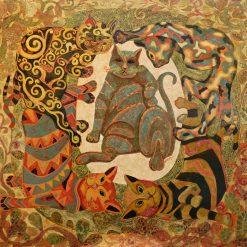 Dancing Cat, Vietnam Art Gallery