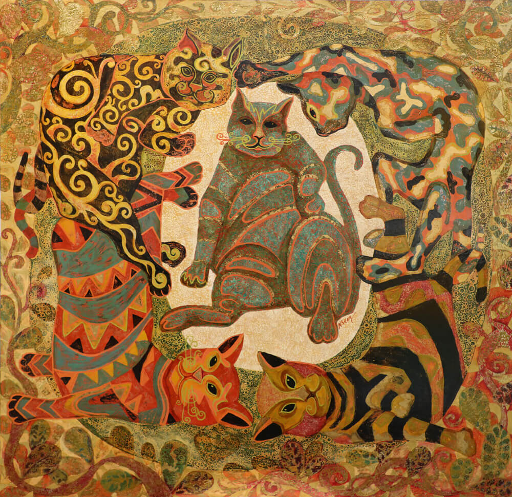 Dancing Cat, Vietnam Art Gallery