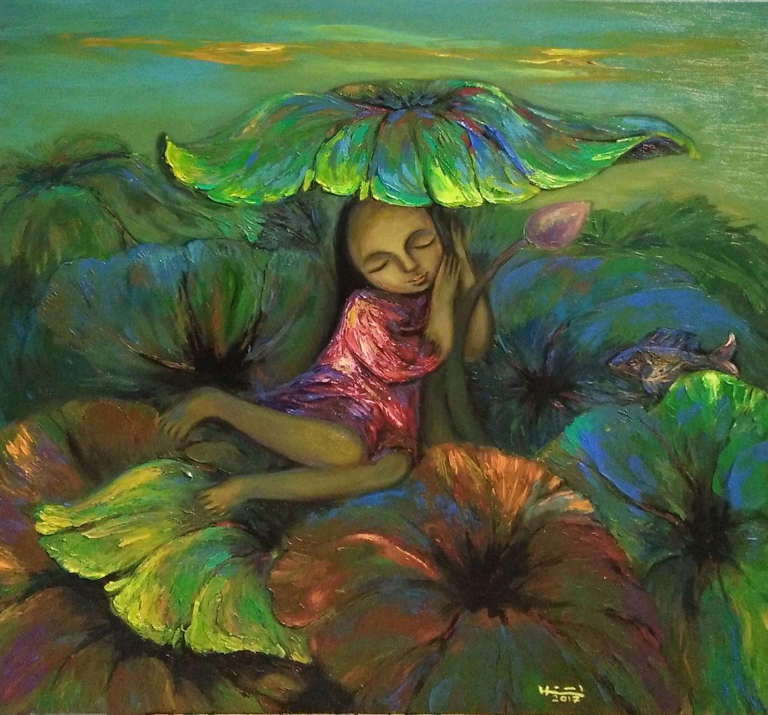 Lotus season, Vietnam Art Gallery