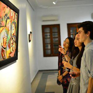 Organize art Exhibition