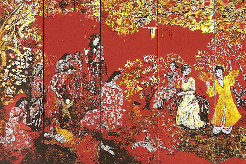Nguyen Gia Tri - The King of Vietnamese Lacquer Painting