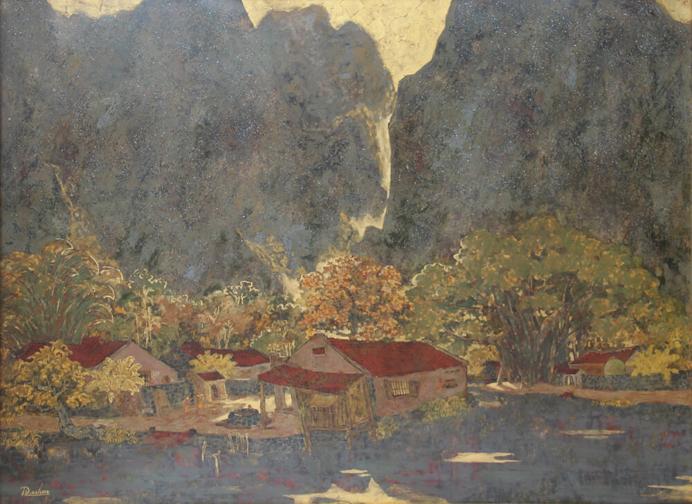 Ninh Binh Landscape, Hanoi Art Gallery
