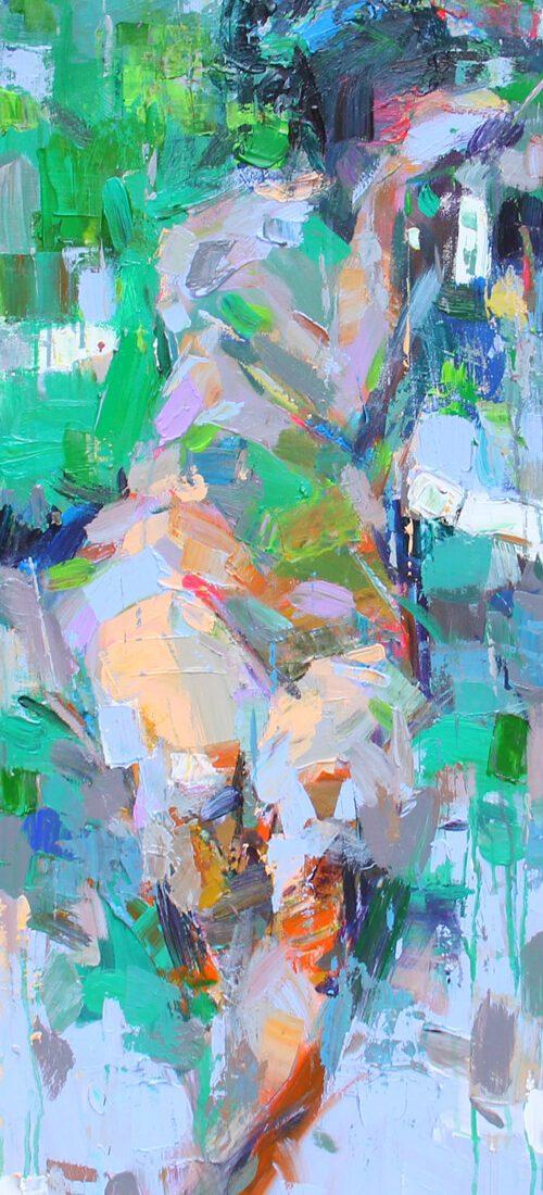 Nude 21, Vietnam Art Paintings