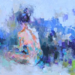 Nude 24, Vietnam Art Paintings