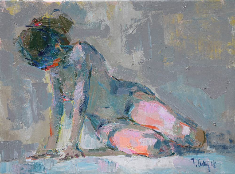 Nude 29, 60 x 80 Vietnam Artists