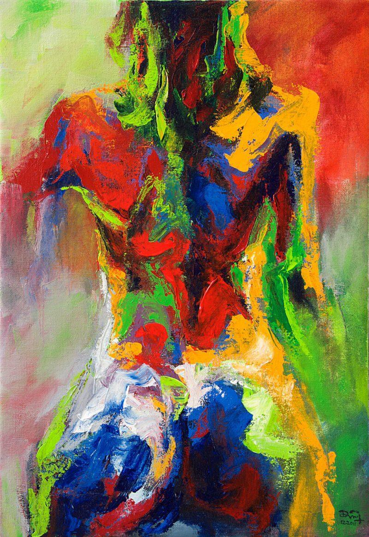 Nude-3, Art Paintings in Vietnam