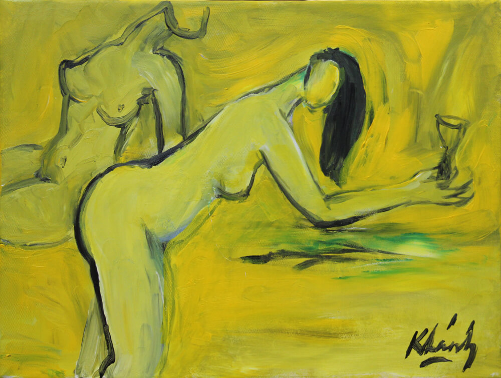 Nude II, Artworks in Vietnam