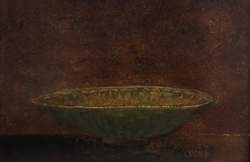 Old Bowl 11, Vietnam Paintings