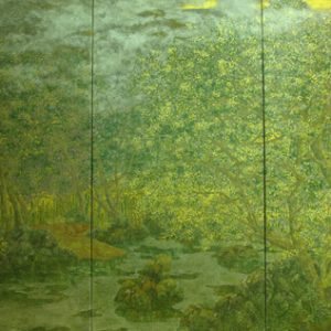 On the Bank of the Stream, Vietnam Art Paintings