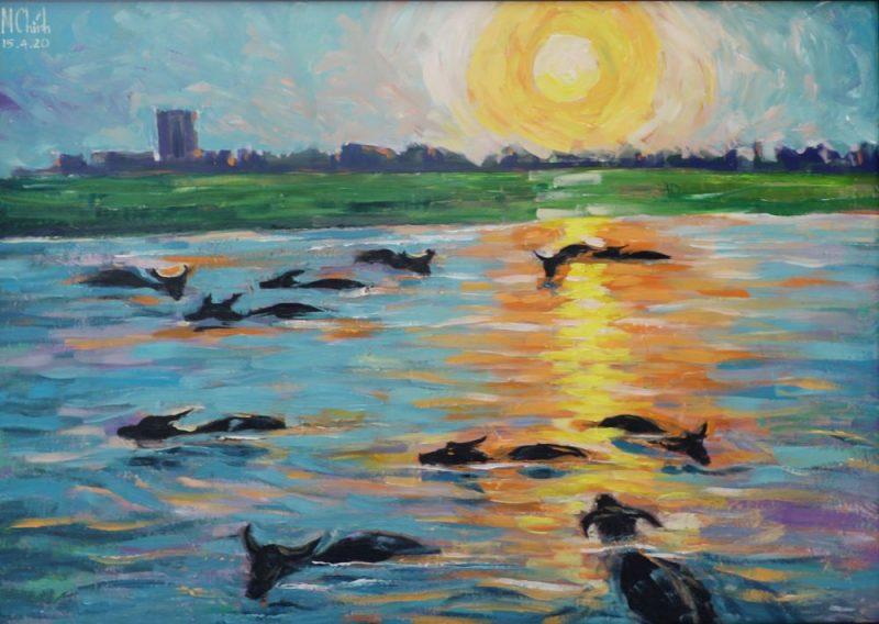 Peaceful Sunset - Minh Chinh