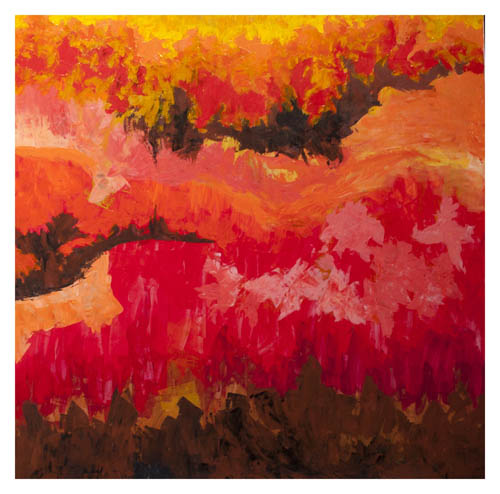 Painting exhibition l in hanoi nguyen art gallery - Appartement renove hanoi hung manh tran ...