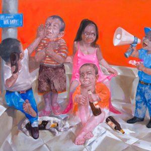 Play boy, Luong Trung Artist, Vietnam Artist