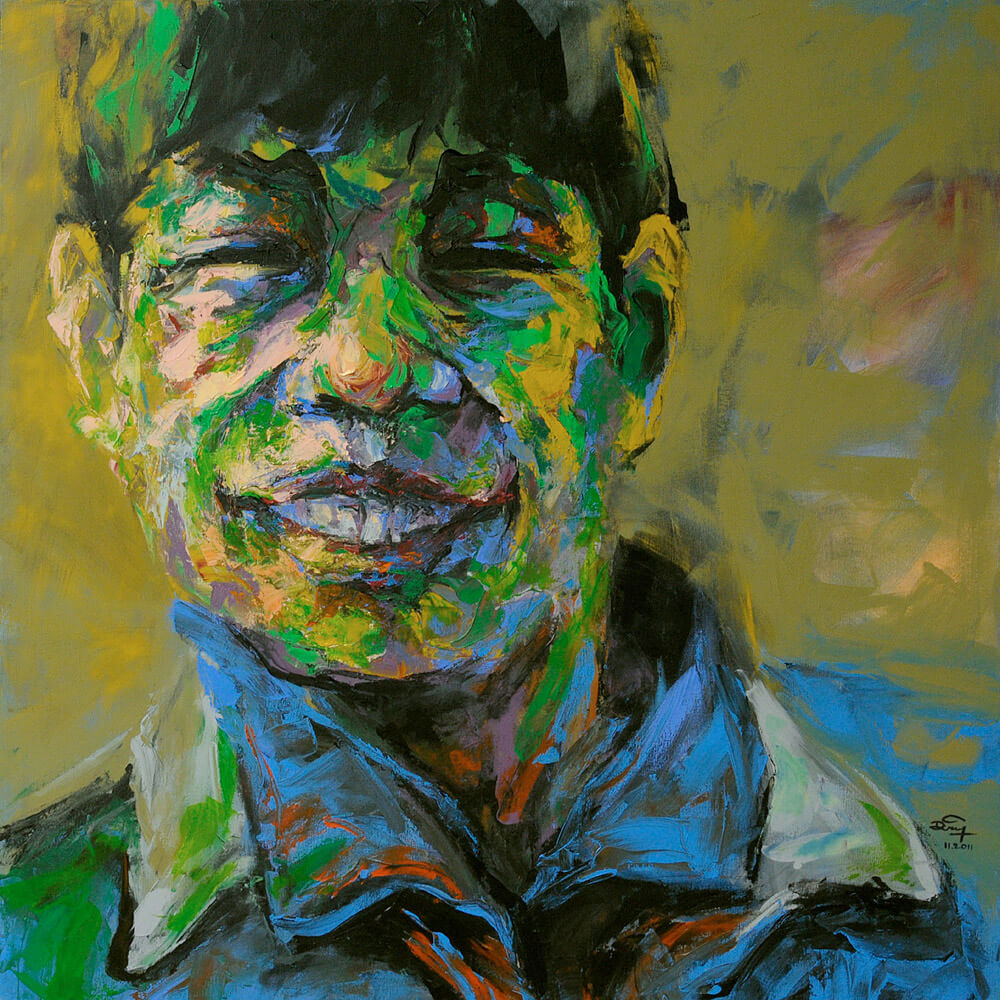 Portrait-03, Vietnam Art Paintings