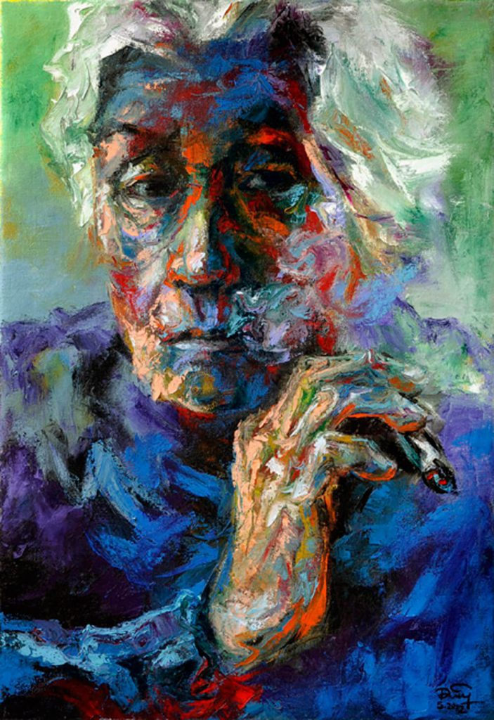 Portrait 11, Vietnam Art Paiting