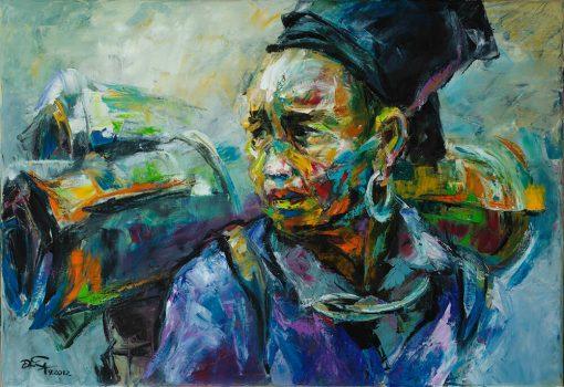 Portrait 15, Artworks in Vietnam