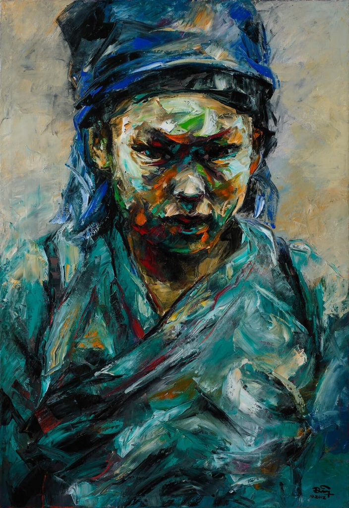 Portrait 22, Vietnam Art Paintings