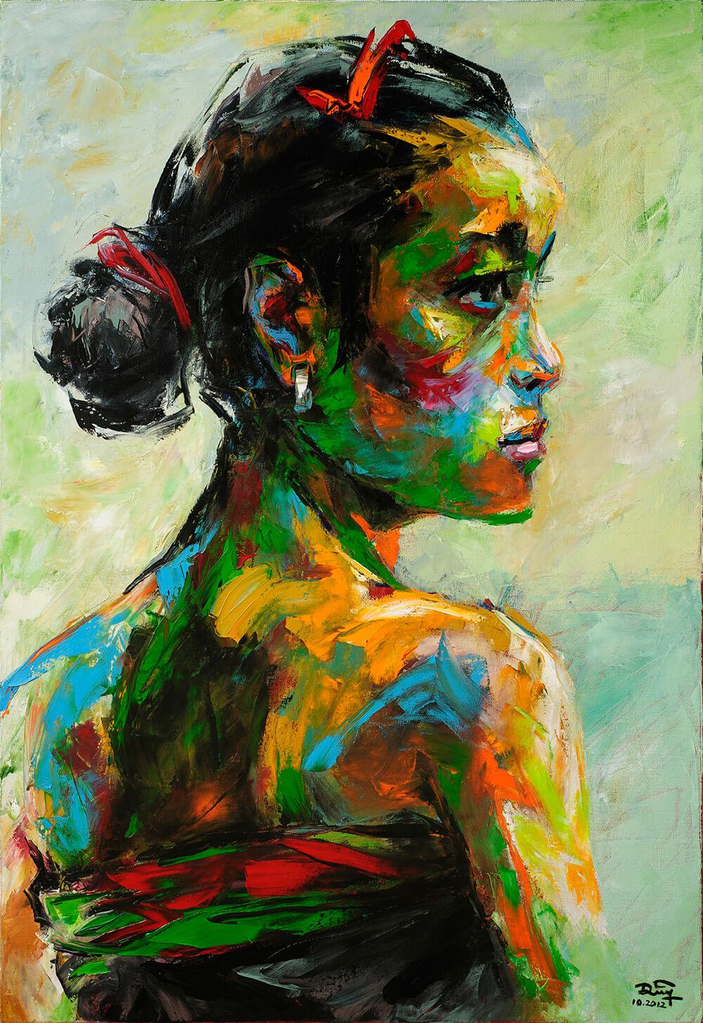 Portrait 26, Vietnam Art Paitings