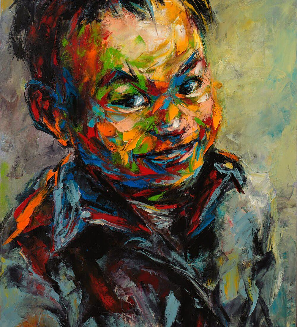 Portrait 27, Vietnam Artist