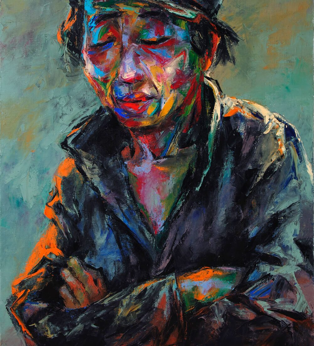 Portrait 33, Art Painting in Vietnam