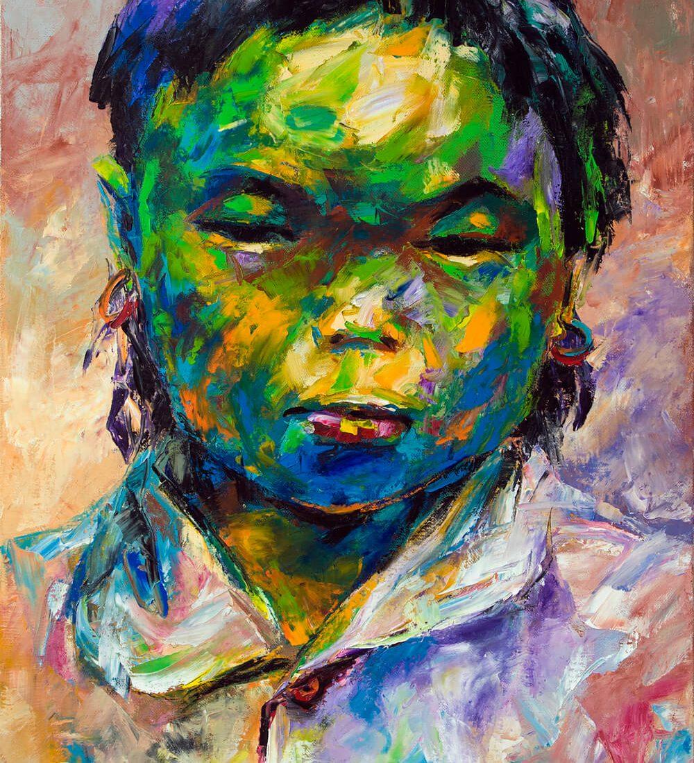 Portrait 35, Art gallery in Vietnam