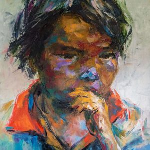 Portrait 36 - Mai Huy Dzung - 120x160cm