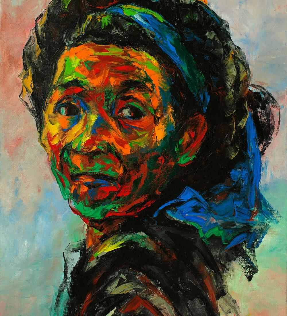 Potrait 30, Hanoi Art Gallery