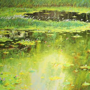 Pure Water - original vietnamese paintings