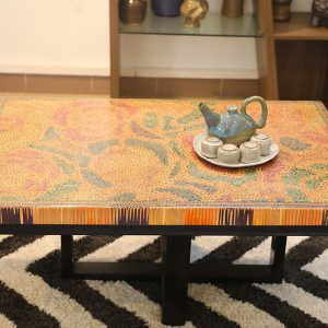 Rose Garden Colored-Pencil Coffee Table III 12
