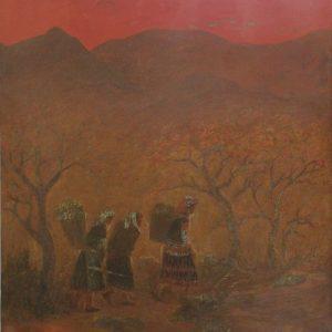 Scenery Of Mountainous Area artist tran lang